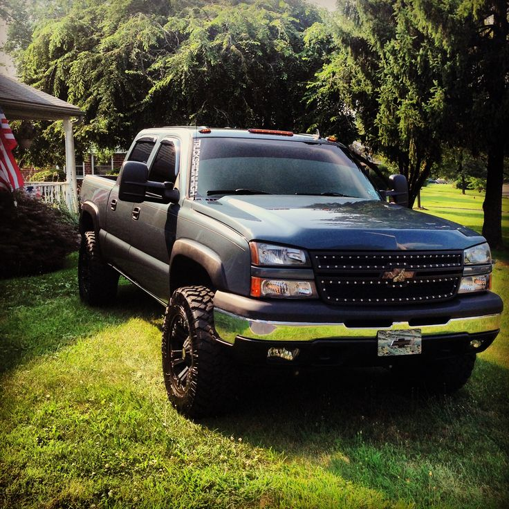 2006 lifted Chevy Silverado...if only mine was lifted and this nice