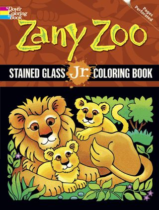Kids Can Go Wild With This Stained Glass Coloring Book And Its Winsome Images Sixteen