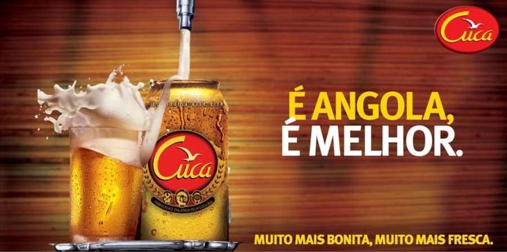 Cerveja Cuca Angola - Angolan Beer CUCA