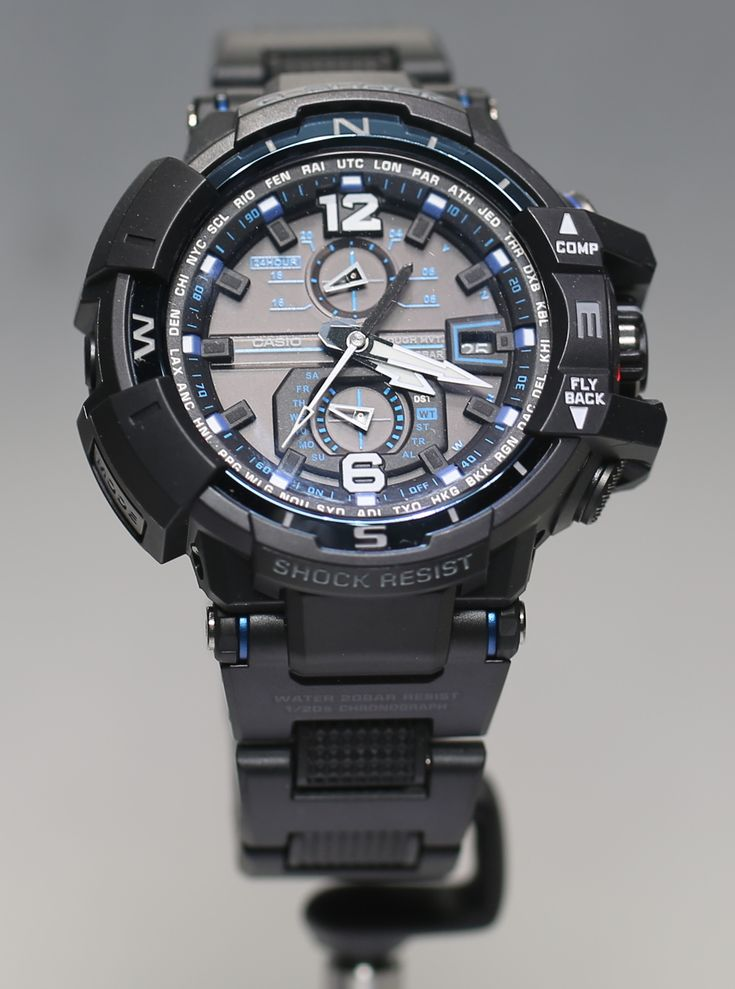 Casio G-Shock Gravity Defier Aviator Watches