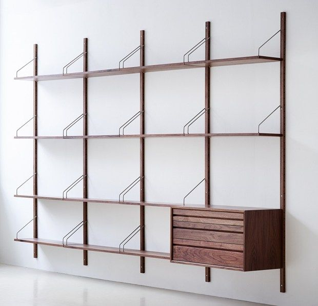 The ROYAL SYSTEM® shelving system by dk3