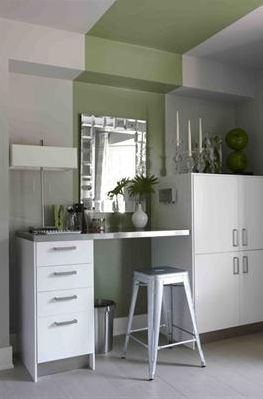 Sarah Richardson Design  Gray   green kitchen design with gray walls  green  stripe painted Para Paints Outside  62 best Designs for the home by Sarah Richardson images on  . Sarah Richardson Kitchen Designs. Home Design Ideas