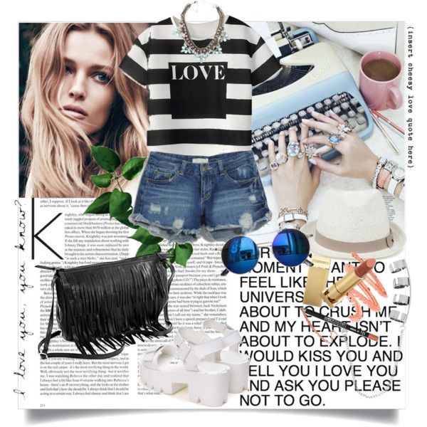 LOVE by ramona-ice on Polyvore featuring MANGO, Steve Madden, Oasis and Chicnova Fashion
