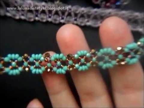 Free beading video tutorial. VIDEO CREAZIONI novembre 2012