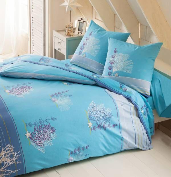 Linge de lit Bleu archipel