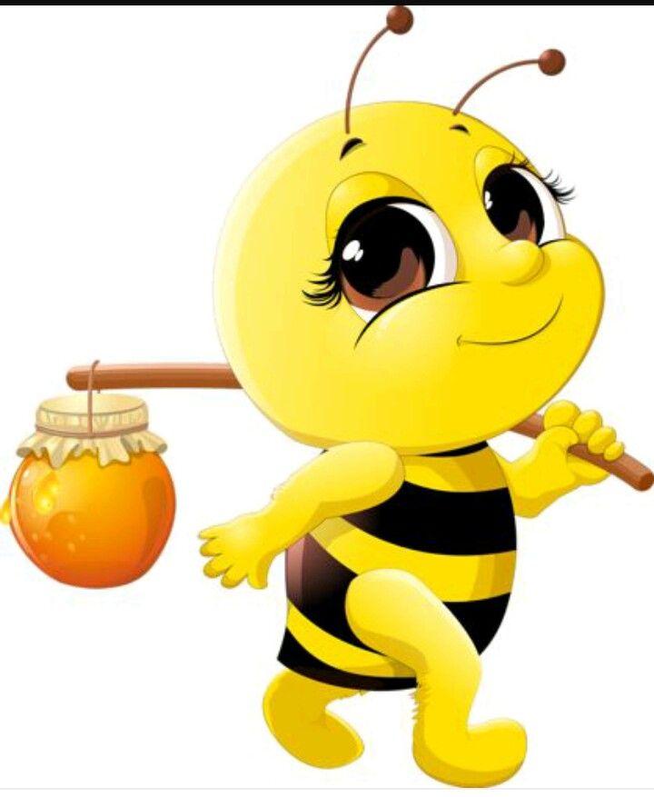 Открытки днем, картинка пчелки смешная