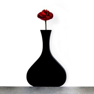 Vaso Vanity stretto black