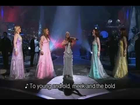 Celtic Woman - Carol Of The Bells  ---  Celtic Woman is coming to town in Dec. My husband knows I like them and wanted to take me.  We looked up ticket prices... $82-337 each.  RIDICULOUS!!!!!!