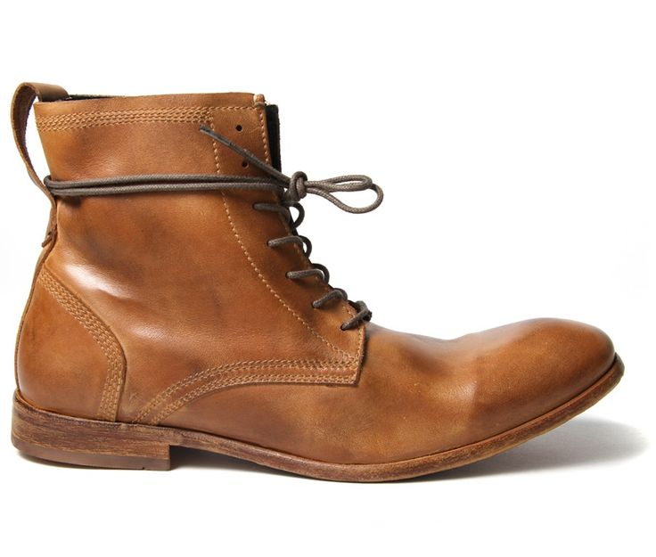 These calf leather casual men's boots are one of the favourites here at HQ.   The round toe washed Victorian style leather ankle boot with wrap around laces are the perfect addition every weekend! The tan leather has a washed finish giving them an uneven colouring that just adds to the character.   The upper is detailed with exposed stitching around the heel and topline, whilst the laces are long enough to wrap around the top. Keep tight laced or open and relaxed, either way Swathmore will…