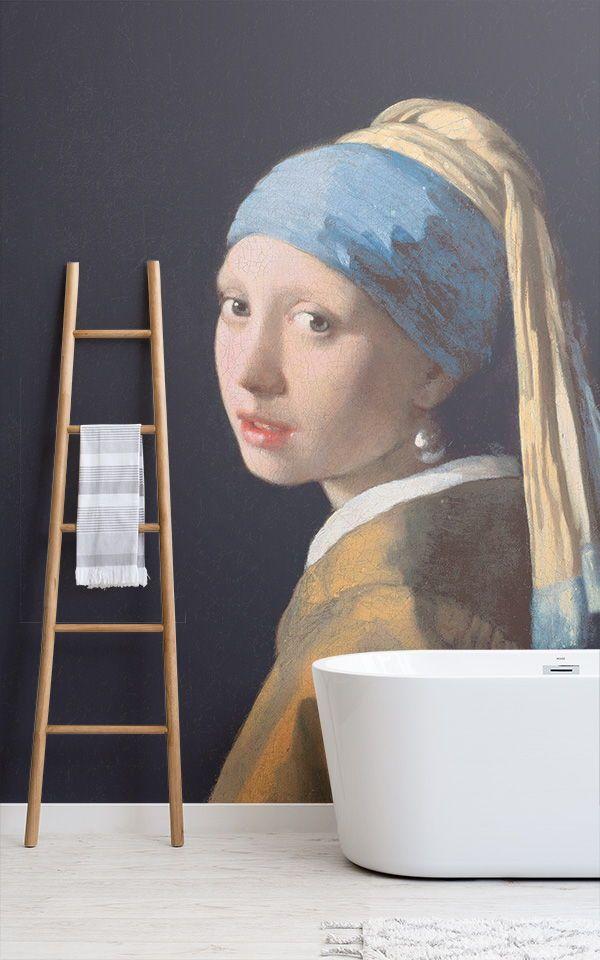 calidad nuevos productos venta barata del reino unido Fotomural La joven de la perla, Vermeer | ¤ D E C O paredes ...