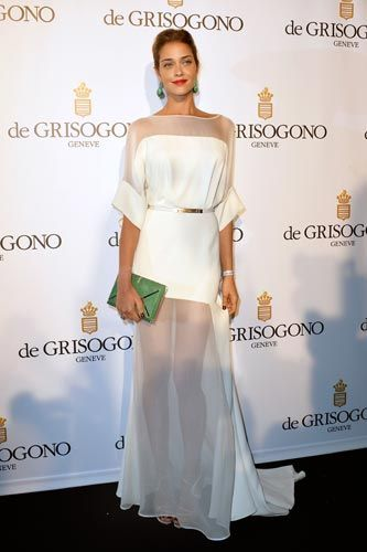 Love Ana Beatriz Barros' dress and green accents