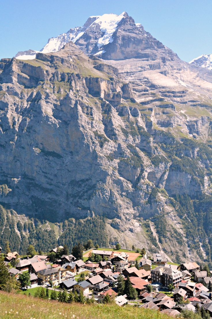 Switzerland Murren opposite the Eiger Monch and Jungfrau (Wil 3790) & 6433 best Switzerland coll. board. images on Pinterest ... pezcame.com
