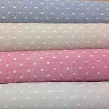 Ashley Wilde Pier a pois colore tessuti di cotone tessuto irregolare.4 COLORI, SPEDIZIONE GRATUITA