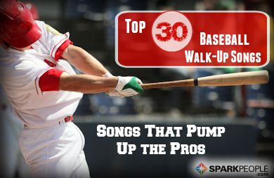 Get pumped for your next cardio workout with 30 Major League Baseball walk-up songs.