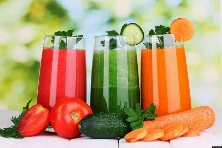 Suco de vegetais é um inibidor natural da fome