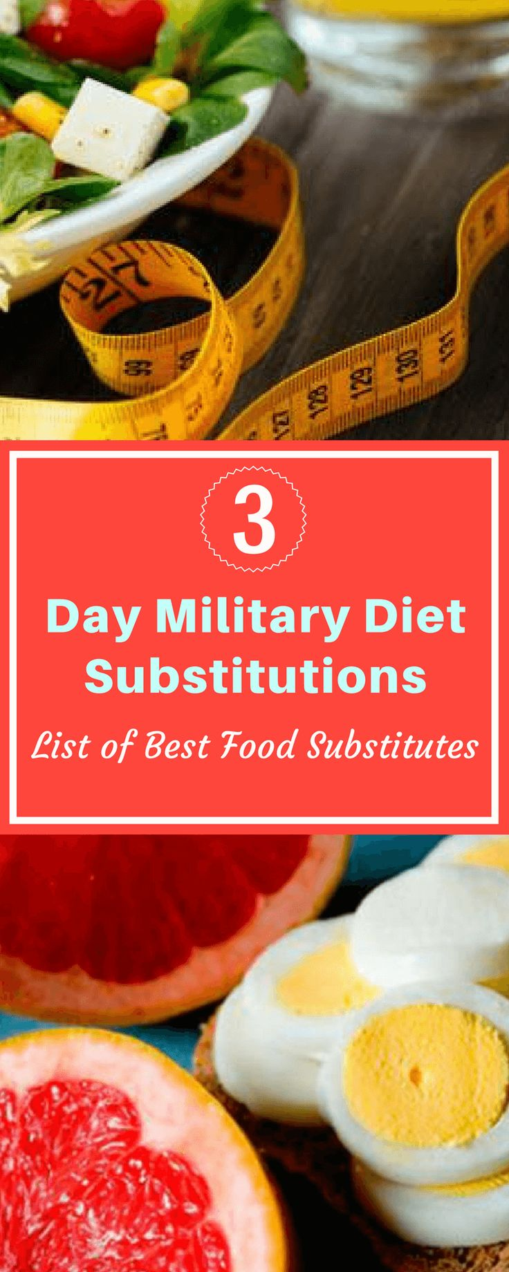 3 Day Military Diet Substitutions: List of Best Food Substitutes | Home Remedy Nation