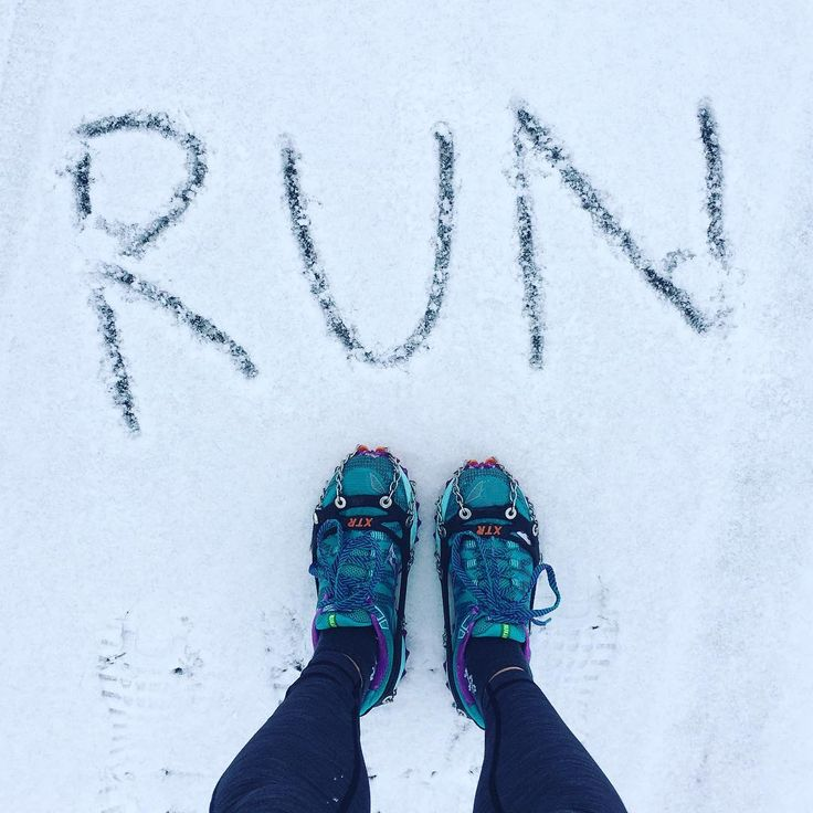 'Run often, run long but never outrun your love of running' I love running in fresh snow, it's so peaceful.