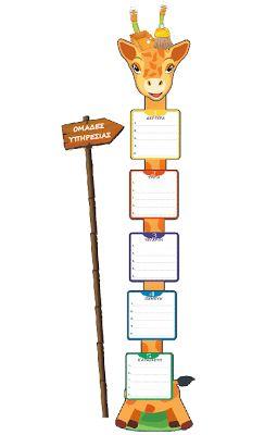 << ΠΕΡΙ... ΝΗΠΙΑΓΩΓΩΝ >> (All about kindergarten): ΟΜΑΔΕΣ ΥΠΗΡΕΣΙΑΣ