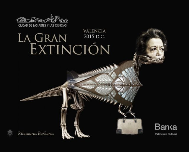 Gallota Rita Barbera Dinosaurio