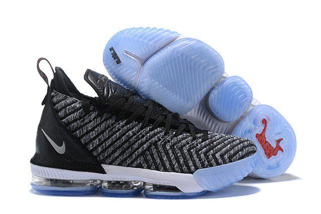 Nike LeBron 16 Men s Basketball Shoes Black Grey  9f29d8b27