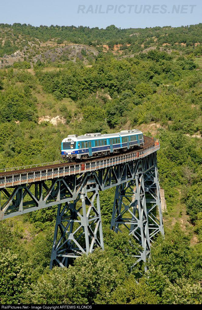RailPictures.Net Photo: 621 102/202 OSE Hellenic Railways MAN/HSY, MAN2000 at Edessa, Greece by ARTEMIS KLONOS