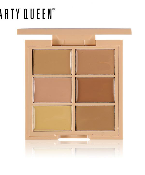 6 Color Makeup Cream Conceal Correct Contour Palette