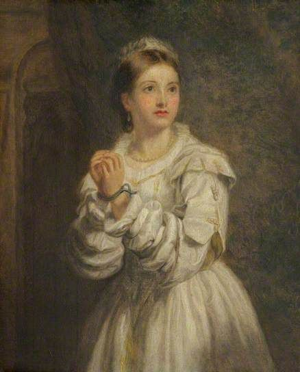 """""""Bianca"""", by William Powell Frith (British, 1819-1909)."""
