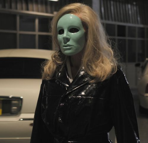 Edith Scob in Holy Motors (Leos Carax, 2012)