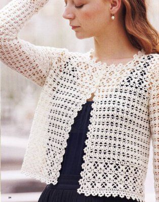 crochet blusa with pattern