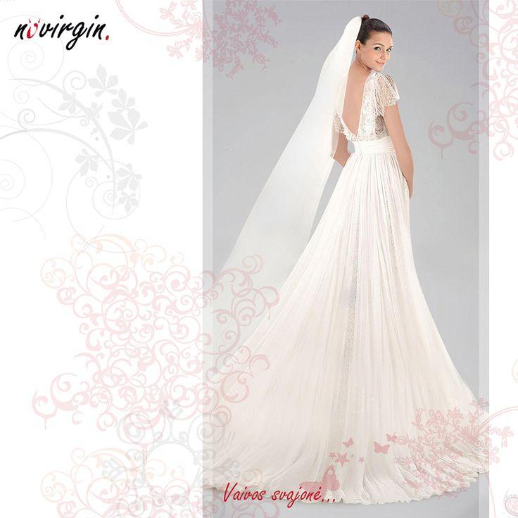 Vaivos vestuvinė suknelė / Wedding dress for Vaiva