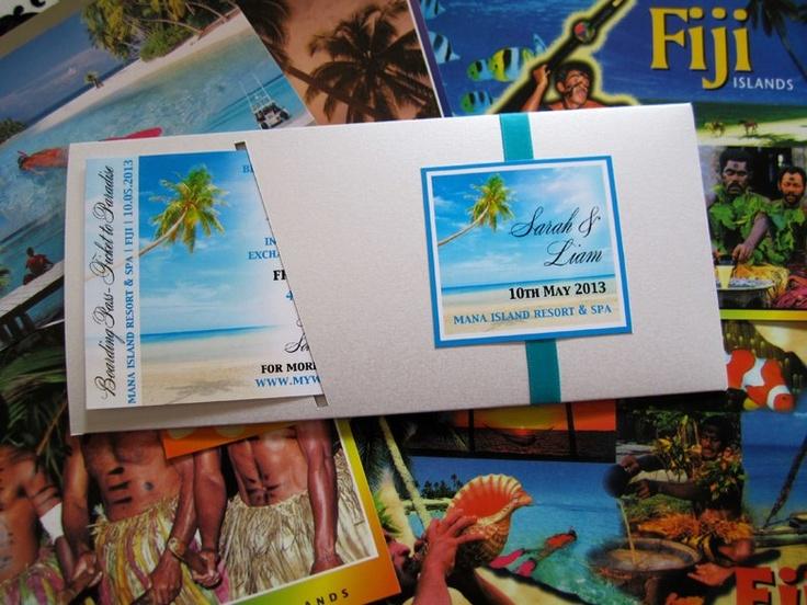 #destinationwedding #weddinginvitation #fijiweddinginvitation #fijiwedding #invitation  by Island Princess Designs  www.islandprincessdesigns.com.au