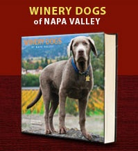 Winery Dogs of Napa Valley: Vineyard Dogs, Dogs Enjoying, Coffee Tables Books, Arroyo Wineries, Wine Dogs, Wineries Trips, Wineries Life, Wineries Dogs, Coffee Table Books