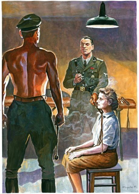 Gestapowiec Hans Krüger doprowadził też do aresztowania w Stanisławowie księżnej Karoliny Lanckorońskiej. Osobiście ją przesłuchiwał i straszył. Był tak pewny, że Lanckorońska już nie wyjdzie z więzienia, iż pochwalił się, że to on był sprawcą wymordowania polskich profesorów na Wzgórzach Wuleckich we Lwowie w lipcu 1941 r.