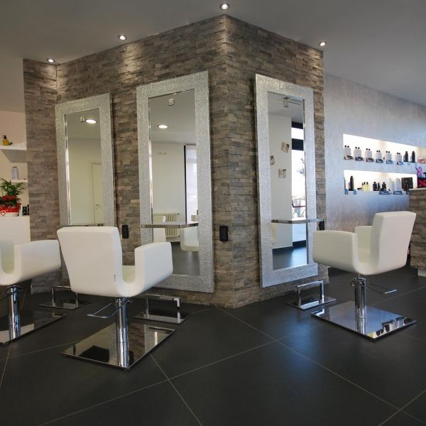 25 best ideas about salons on pinterest salon design for Salon furniture makeup station