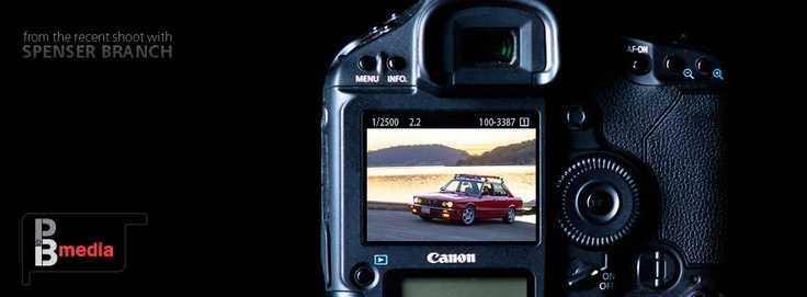 A preview from a shoot with my brother's '87 BMW E28 535is.  © Pat Branch / PBmedia
