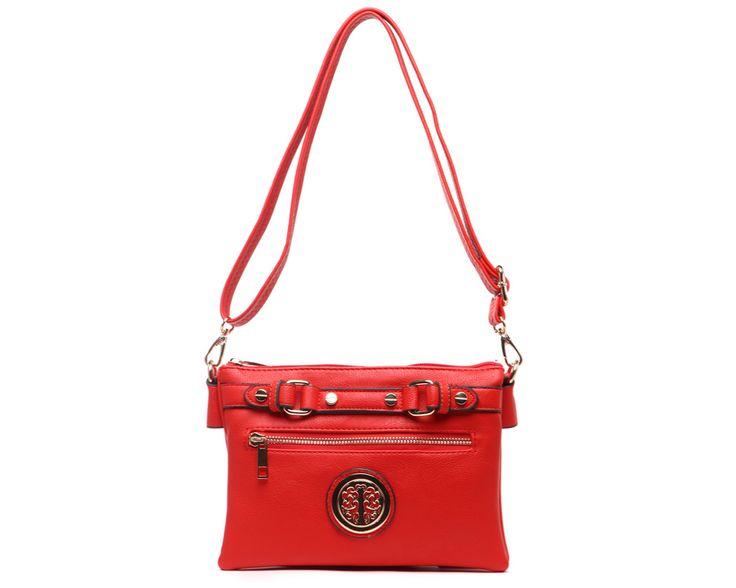 Alexa Crossbody Bag - Red