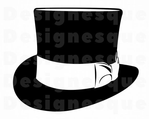 Top Hat 11 Svg Top Hat Svg Hat Svg Retro Hat Svg Hat Etsy In 2021 Retro Hats Top Hat Svg