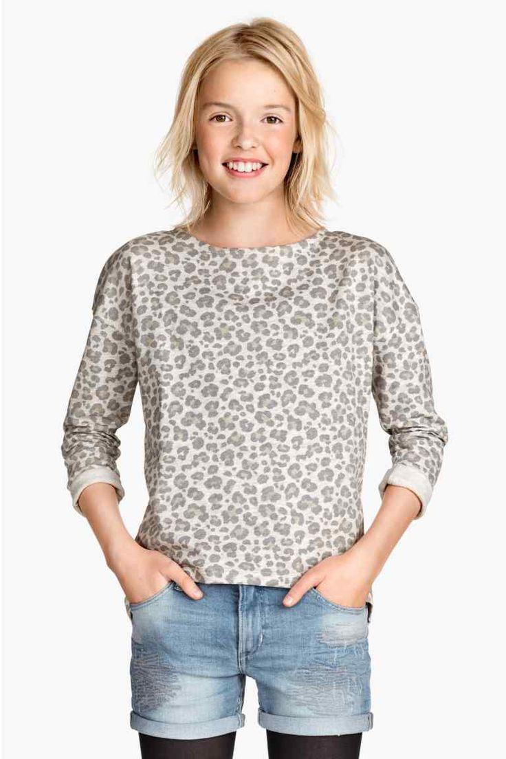 Bluză din molton | H&M
