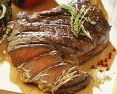 Côte de boeuf grillée au thym et au romarin (facile, rapide) - Une recette CuisineAZ
