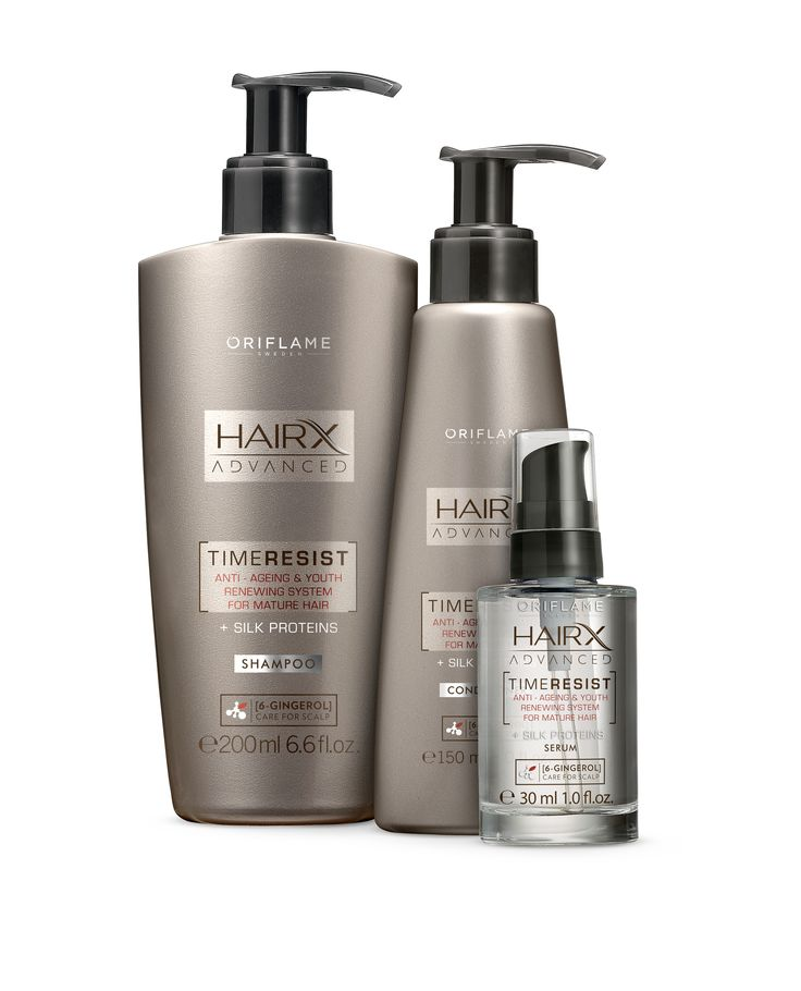 Oriflame HairX Advanced TimeResist Haircare
