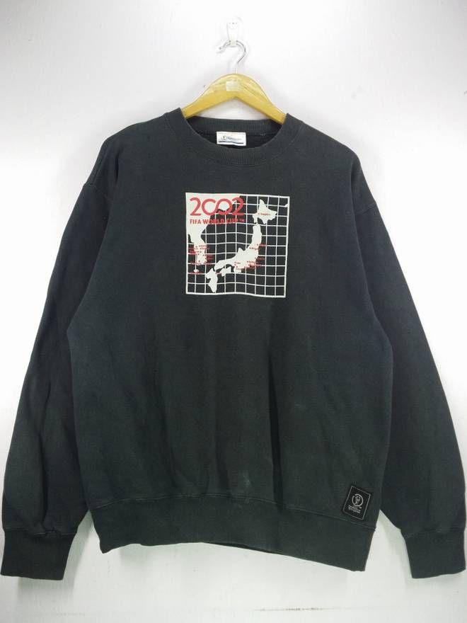 5ca2b2441753 Fifa World Cup Fifa Official Fifa World Cup 2002 Korea Japan Sweatshirt  Jumper Pullover Size Large Size US L   EU 52-54   3