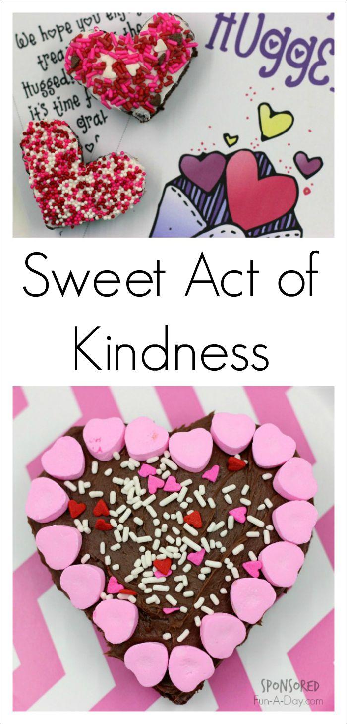 Kindness crafts for preschoolers - You Ve Been Hugged Valentine Act Of Kindness Kids Valentinesvalentine Craftsvalentine