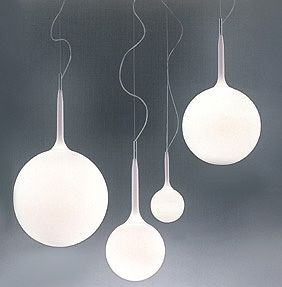 Artemide Inc. Castore suspension cool even though they look like sperm.