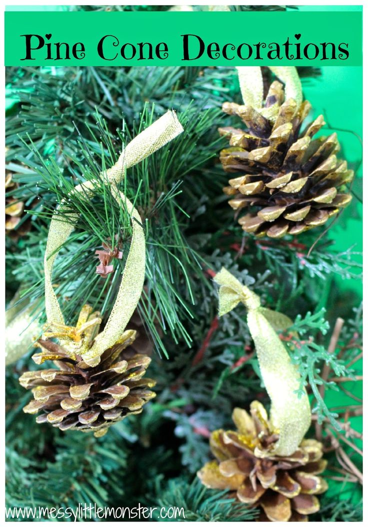 Pine cone tree decorations trees christmas and for Fir cone christmas tree decorations