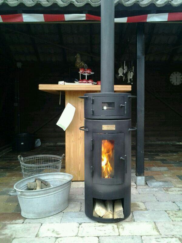 Hessling Outdoor, Outdoor stove, furnace, heater, with oven, tuinkachel met oven! www.hessling.nl