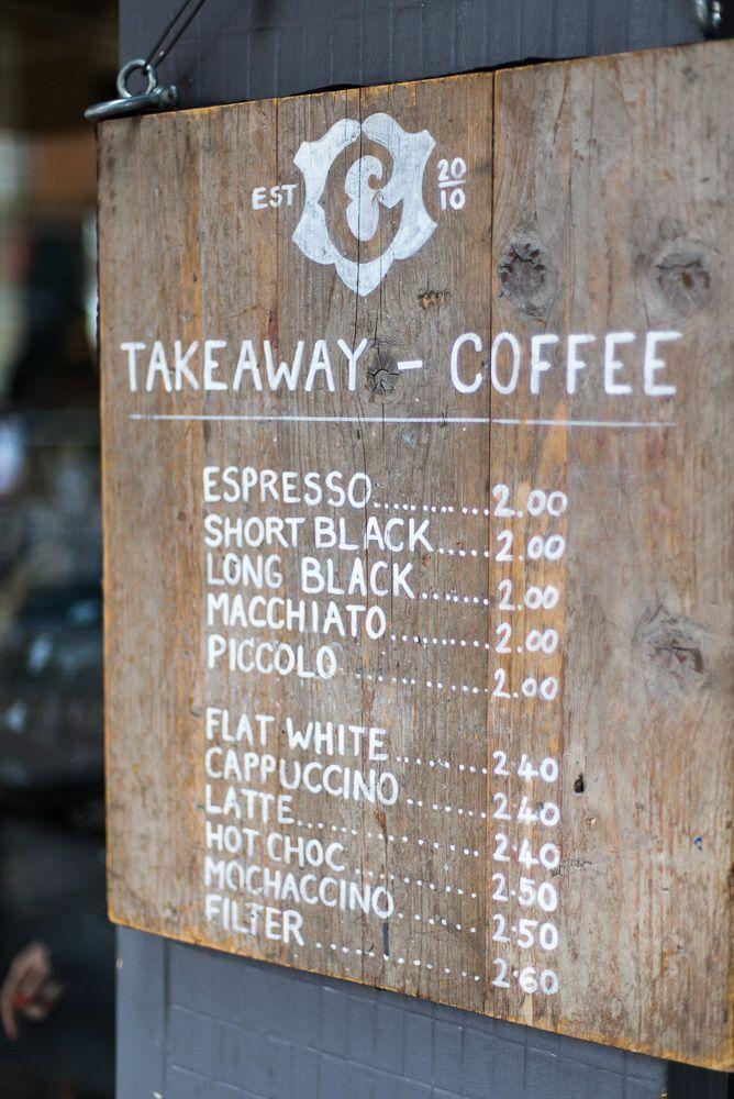 Take away - coffee