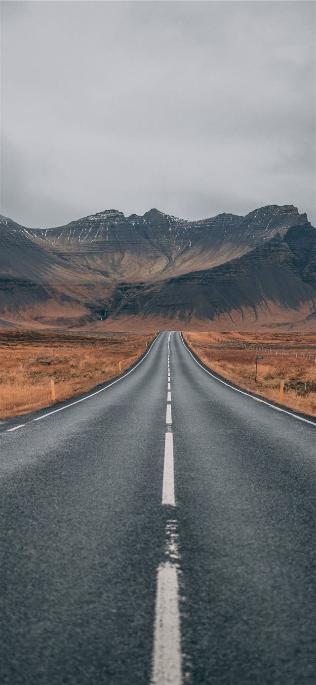 Road to paradise iPhone X wallpaper #mountain #photography #Canon #Iceland #road… – smileyly