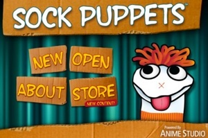 How-to instructions and classroom ideas for the Sock Puppets app.