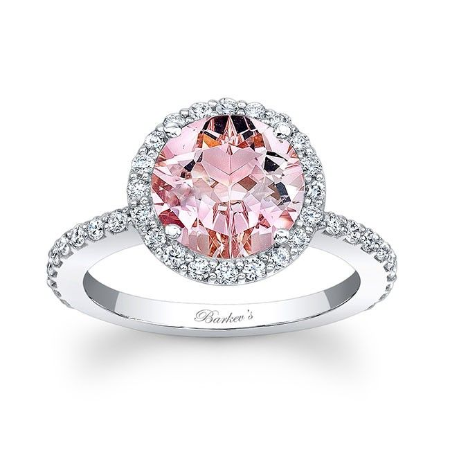 27 best Morganite Engagement Rings images on Pinterest Morganite