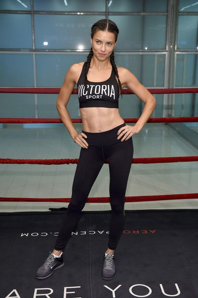 Victoria's Secret hosts Train Like An Angel with Adriana Lima at Aerospace High Performance Center on November 21, 2016 in New York City.